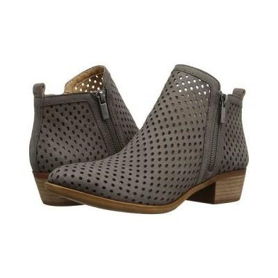 Lucky Brand ラッキーブランド レディース 女性用 シューズ 靴 ブーツ アンクル ショートブーツ Basel 3 - Dark Stone