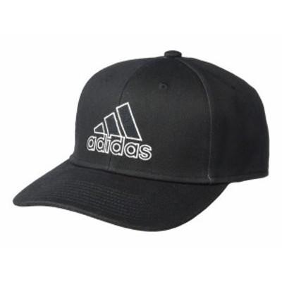 アディダス メンズ 帽子 アクセサリー Producer Stretch Fit Structured Cap Black/White