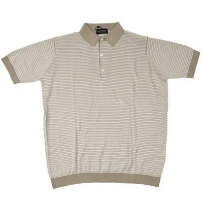 ジョンスメドレー ポロシャツ トップス 半袖 9041 GRIST ベージュ メンズ