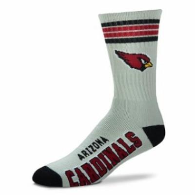 For Bare Feet フォー ベア フィート スポーツ用品  For Bare Feet Arizona Cardinals Gray Deuce Socks