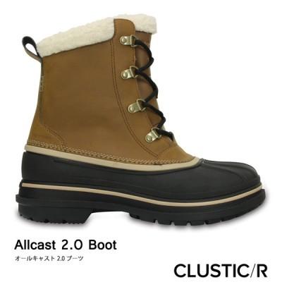 CROCS【クロックス/メンズ】Allcast 2.0 Boot/ オールキャスト 2.0 ブーツ/ ウィート×ブラック 203394