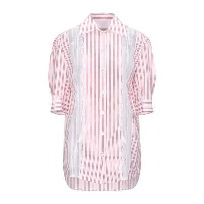 SANDRO シャツ レッド 0 コットン 100% シャツ