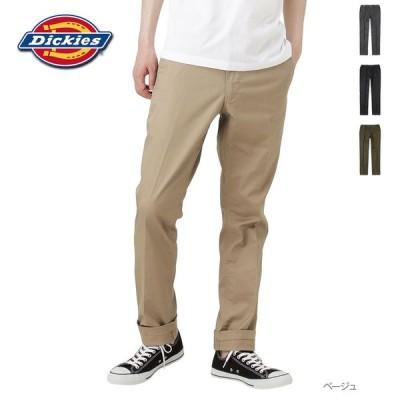 Dickies ディッキーズ チノパン ストレートパンツ テーパードパンツ メンズ ロングパンツ ブランドロゴ