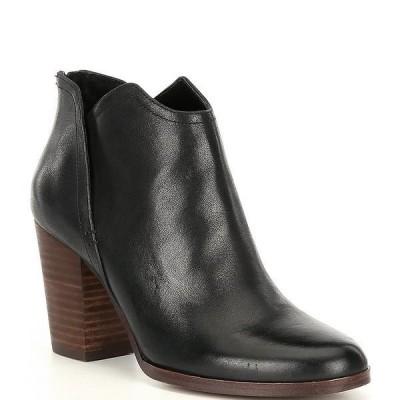 ジービー レディース ブーツ&レインブーツ シューズ Re-Run Cut Out Casual Block Heel Booties Black
