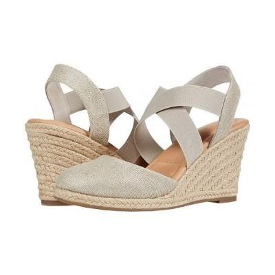 Me Too ミートゥー レディース 女性用 シューズ 靴 ヒール Brinley - Silver Canvas