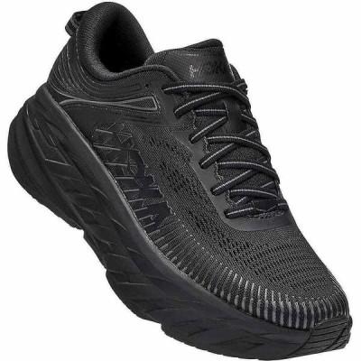 ホカ オネオネ Hoka One One レディース ランニング・ウォーキング シューズ・靴 Bondi 7 Shoe Black/Black