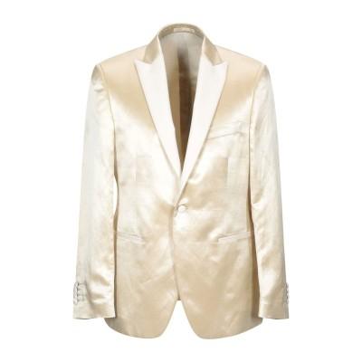 ラルディーニ LARDINI テーラードジャケット アイボリー 48 麻 65% / シルク 35% テーラードジャケット