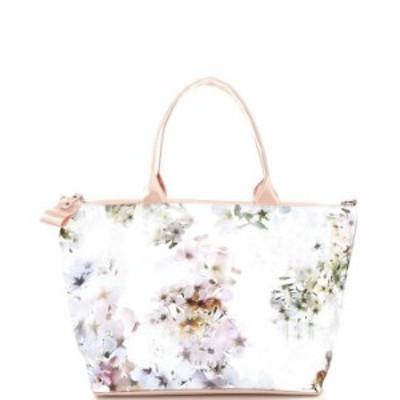 テッドベーカー レディース トートバッグ バッグ Sophyy Floral Nylon Tote Bag Ivory