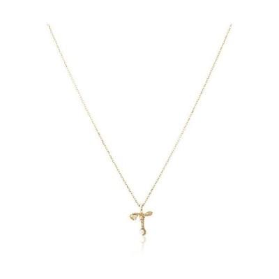 [ザ・リトル・クラシックス] ダイヤモンド 0.01ct イエローゴールド K10 ネックレス 109P0103T (ゴールド)