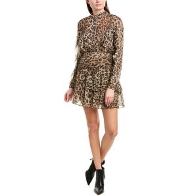 ニコラスカークウッド レディース ワンピース トップス NICHOLAS Leopard A-Line Dress leopard
