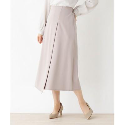 SOUP / innowave ラップ風ポンチロングスカート WOMEN スカート > スカート