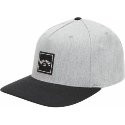 ビラボン メンズ 帽子 アクセサリー Billabong Men's Stacked Snapback Hat Grey Heather