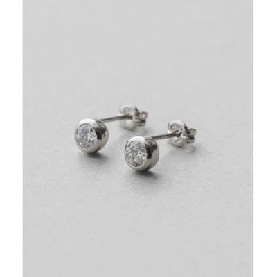 【エテ/ete】 PT900 ダイヤモンド 0.4ct ピアス「ブライト」
