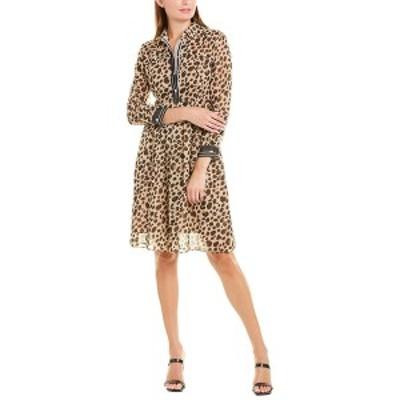 マレーラ レディース ワンピース トップス Marella A-Line Dress beige animal print
