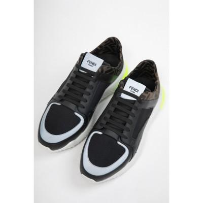 フェンディー スニーカー ローカット シューズ 靴 メンズ 7E1237 A7M7 ブラック FENDI