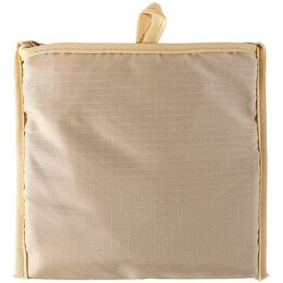 エコバック メンズ コンパクト 折りたたみ カラー 色 買い物 大きい マイバック 容量 防水 買い物袋 買い物バッグ(ベージュ)