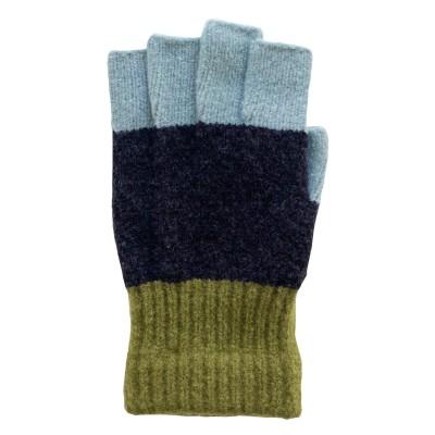 10色から選べる!フィンガーレスでスマホも楽々♪ふわもこ手袋/テスタバ[日本製]