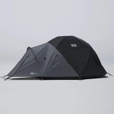 【予約】 muraco ムラコ GUSTAV 4P グスタフ 4人用 テント ブラック/グレー キャンプ T013