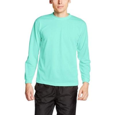 トムス(TOMS) 4.4オンス ALT ドライロングスリーブTシャツ   ミントグリーン(L)