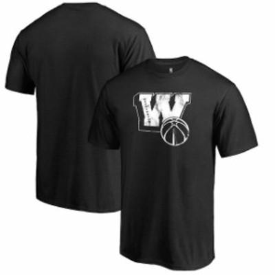 Fanatics Branded ファナティクス ブランド スポーツ用品  Fanatics Branded Washington Wizards Black Letterman T-Sh
