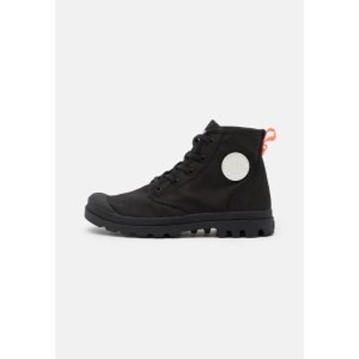 パラディウム レディース ブーツ&レインブーツ シューズ PAMPA HI - Lace-up ankle boots - black black