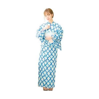 (ディータ) Dita 本格 女性 浴衣 すぐにお出かけフルセット 浴衣本体(ゆかた)・作り帯(つくりおび)・下駄(ゲタ