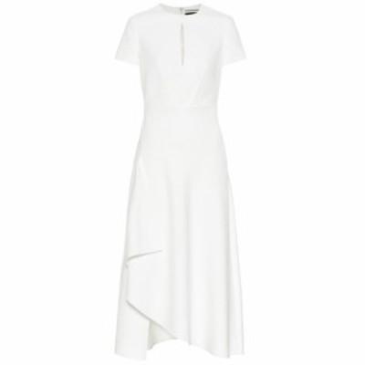 ローラン ムレ Roland Mouret レディース ワンピース ワンピース・ドレス Ardmore crepe midi dress White