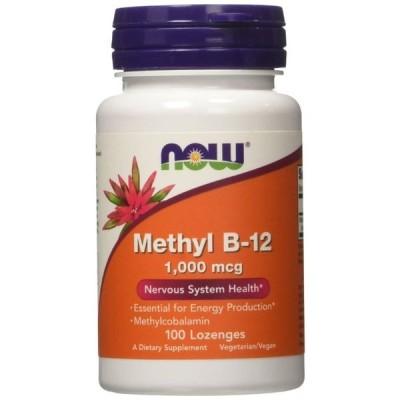 ナウフーズ メチルB-12 1,000mcg 100錠【NOW FOODS】Methyl B-12 1000mcg 100Lozenges