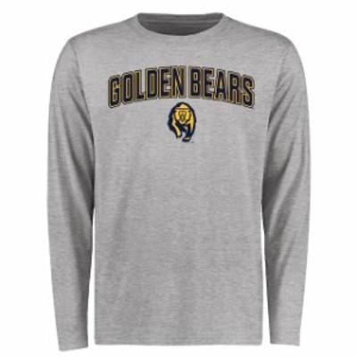Fanatics Branded ファナティクス ブランド スポーツ用品  Cal Bears Ash Proud Mascot Long Sleeve T-Shirt