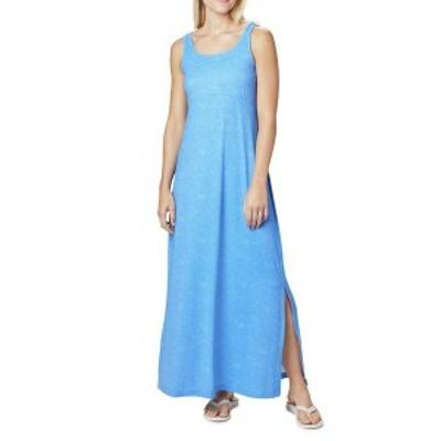 コロンビア レディース ワンピース トップス Freezer¢ Maxi Dress Stormy Blue Seaside Swirls