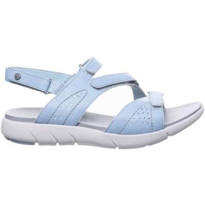 ベアパウ サンダル シューズ レディース BEARPAW Women's Reed Sandals BlueFog