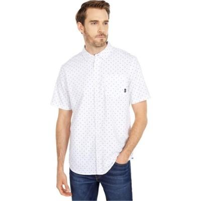 ヴァンズ Vans メンズ 半袖シャツ トップス Houser Short Sleeve Woven Shirt White/Victory Ditsy