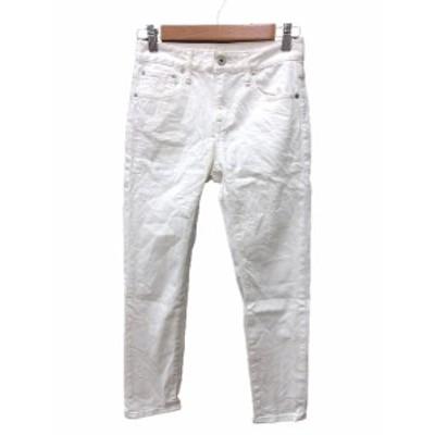 【中古】スピック&スパン Spick&Span WHITE パンツ レギパン スキニー 34 白 ホワイト /MN レディース
