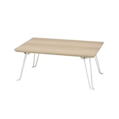 永井興産(Nagai Kousan) ローテーブル NA・ナチュラル 幅450×奥行300×高さ190mm、折畳時:幅450×奥行300×高