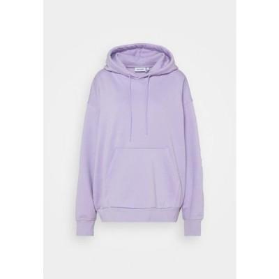 ウイークデイ レディース ファッション ALISA HOODIE - Hoodie - purple