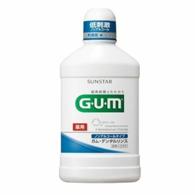 GUM デンタルリンス 低刺激ノンアルコール 500ml