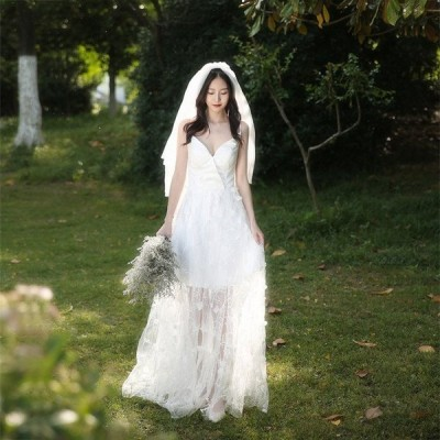 Aラインドレス ボレロ ウェティグドレス パーティードレス ロングドレス 結婚式 二次会 海外挙式 花嫁 安い 大きいサイズ 発表会 おしゃれ 前撮り 披露宴