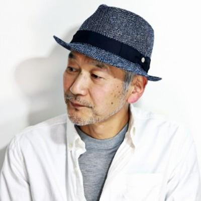 DAKS 帽子 春 夏 ダックス ラッセル編み メンズ 涼しい 中折れハット 英国ブランド ハット 日本