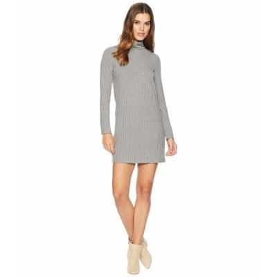ケンジー ワンピース トップス レディース Sweater - Like Rib Dress with Turtleneck KS0K8308 Weathered Slate