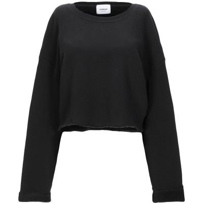 ドンダップ DONDUP スウェットシャツ ブラック S コットン 99% / ポリウレタン 1% スウェットシャツ