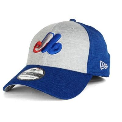 モントリオール・エクスポズ キャップ 帽子 MLB ニューエラ New Era グレー ロイヤル 39THIRTY