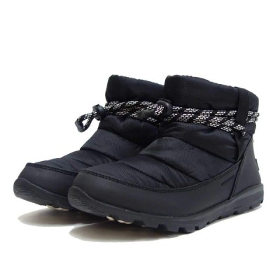 ソレル SOREL ウィットニーショート スノーブーツ NL3088-010 WHITNYE SHORT BLACK