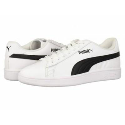 PUMA プーマ メンズ 男性用 シューズ 靴 スニーカー 運動靴 Smash V2 L Puma White/Puma Black【送料無料】