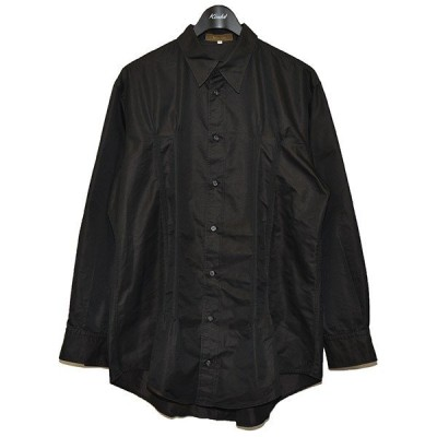 Ys for men プリーツシャツ YOHJI YAMAMOTO ヨウジヤマモト ブラック サイズ:3 (三軒茶屋店) 210522