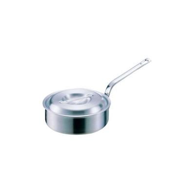 アルミDON片手浅型鍋 アカオアルミ 15cm