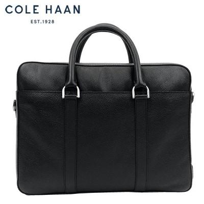 コールハーン Cole Haan ブリーフケース メンズ 本革 レザー 2WAY ビジネスバッグ 黒 ブラック