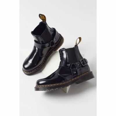 ドクターマーチン Dr. Martens レディース ブーツ シューズ・靴 Wincox Polished Smooth Leather Buckle Boot Black