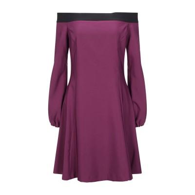 SISTE' S ミニワンピース&ドレス モーブ L ポリエステル 90% / ポリウレタン 10% ミニワンピース&ドレス