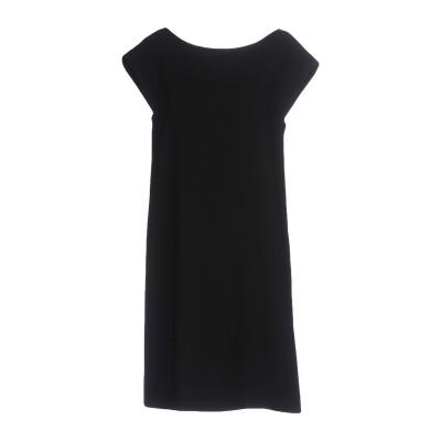 BOUTIQUE MOSCHINO ミニワンピース&ドレス ブラック 44 トリアセテート 70% / ポリエステル 30% ミニワンピース&ドレス
