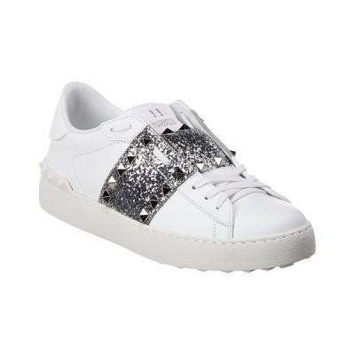 ヴァレンティノ スニーカー シューズ レディース Valentino Rockstud Untitled Leather Sneaker -